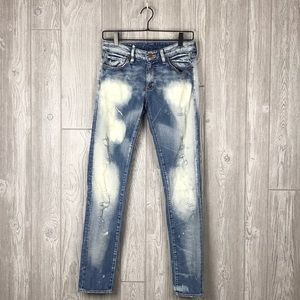 Denim & Supply Ralph Lauren Bleach Skinny Jeans B5